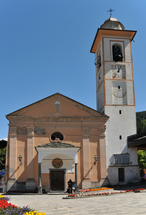 Italie, Val d'Ayas : Champoluc