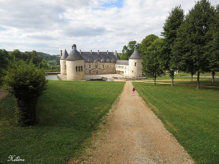 Les jardins du château de Bussy Rabutin