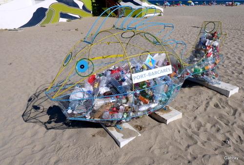 Le Barcarès: lire à la plage