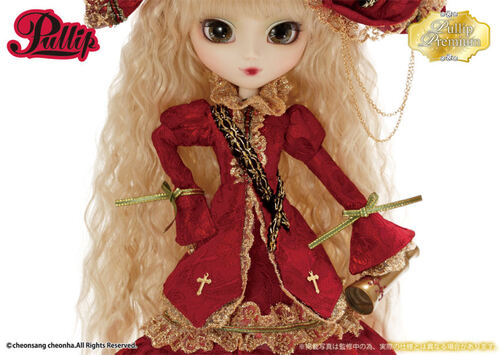 Juin : Pullip Veritas Deep Crimson Version