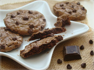 COOKIES BROWNIES ,THERMOMIX