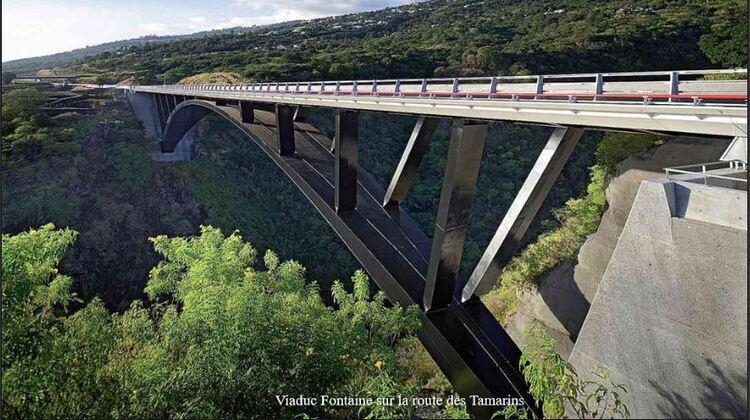 Viaduc Fontaine sur la route des Tamarins