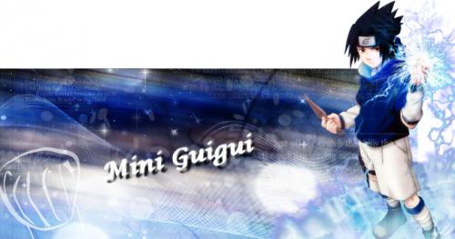 Ma creation pour le concour de Mini Guigui