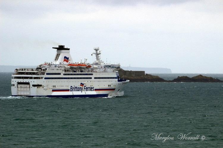 Bretagne : Saint-Malo, Ferries