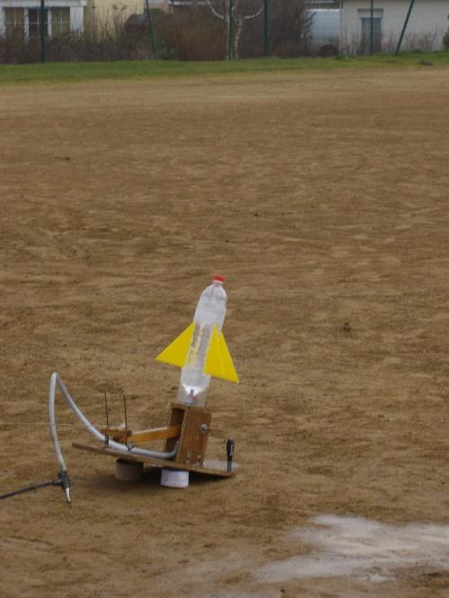 Les fusées à eau !!