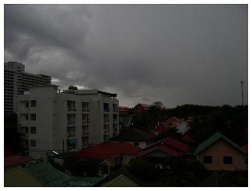 Une journée de mousson en Asie
