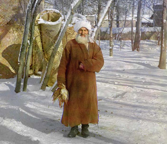 Tajik Man by Sergei Mikhailovich Prokudin-Gorskii