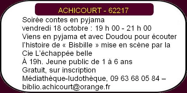 Les oisirs à Arras et ses environs- week-end du 18 au 20 octobre