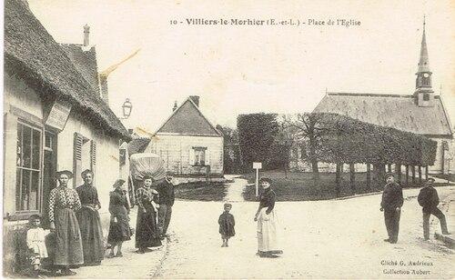 Les commerces à Villiers, entre 1935 et 1945