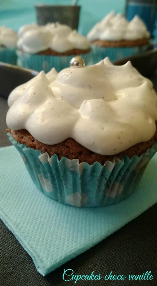 Cupcakes choco vanille et mon partenariat avec Cap d'ambre