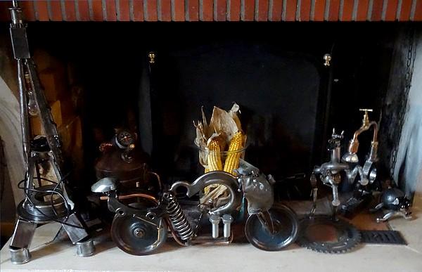 """""""Création Nodoise"""" présente des créations de toute beauté à partir de métaux récupérés..."""