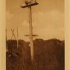 35A grave-post, Hooper Bay