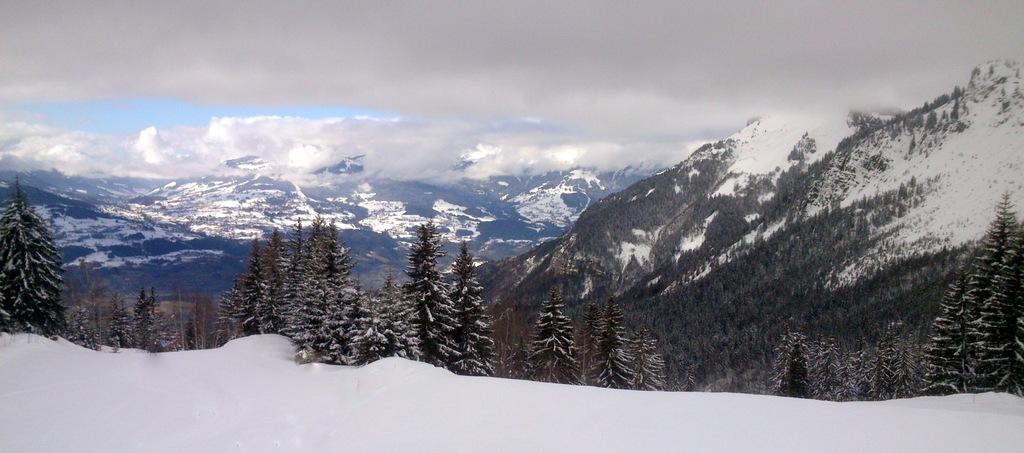 Les pieds dans la neige, la tête dans les nuages....
