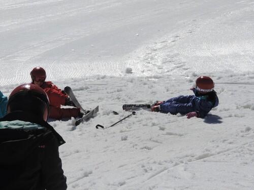 Premier jour de ski