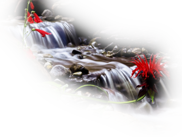 Paysage cascade 3
