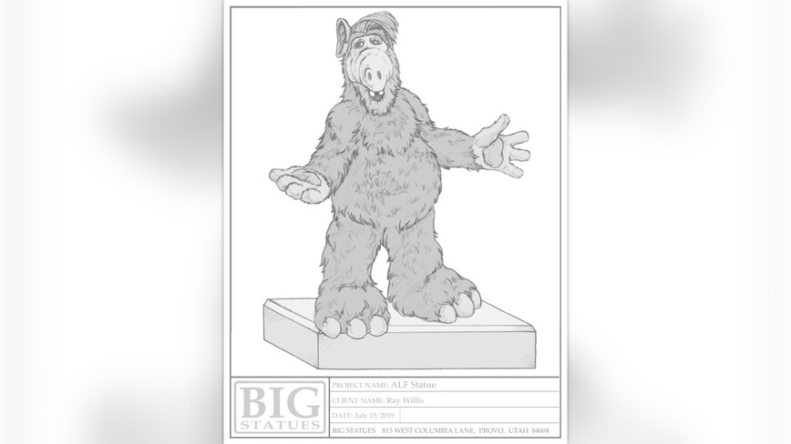 Une statue pour Alf ?