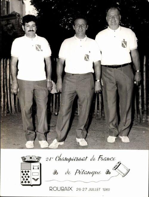 Les qualifiés du 06 de 1955 à 1970