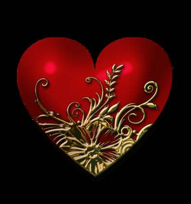 Tubes Coeurs St Valentin Tableau 05