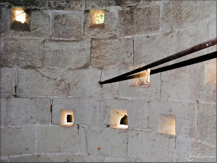 Photos de niches de tirs du Château de Bréze