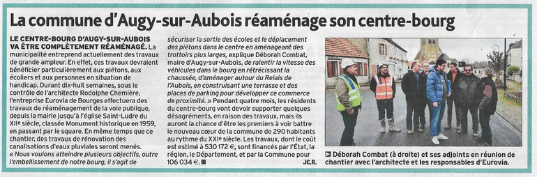 L'Echo du Berry du 7/02/19