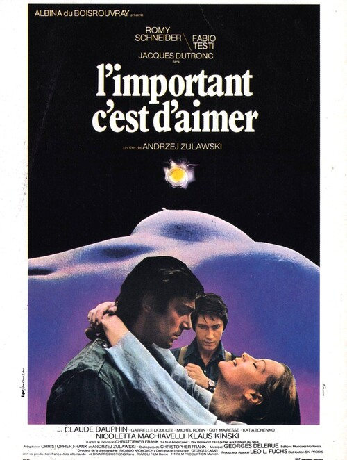 L'IMPORTANT C'EST D'AIMER - BOX OFFICE ROMY SCHNEIDER 1975