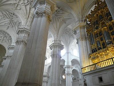 cathédrale grenade colonnes