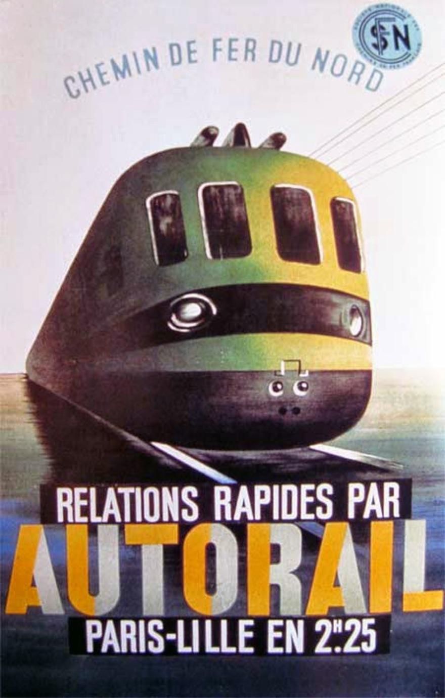 Train automoteur rapide