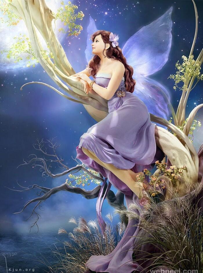 Fantasy Girl: C'est une brillante collection d'œuvres fantastiques en 3D