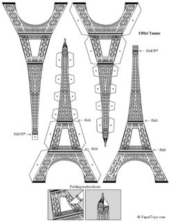 Diaporama Tour Eiffel