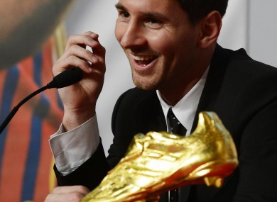Photos et wallpaper inoubliables de Lionel Messi en 2012