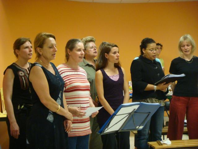 50 - 19/06/2008 - les deux chorales réunies ( suite 1 ) -