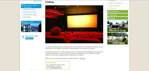 Si, si, le cinéma est toujours ouvert…