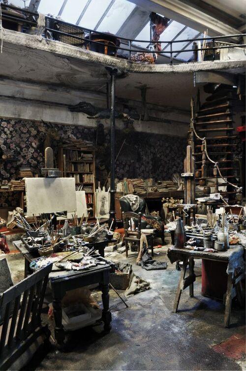 L'atelier d'artiste comme source d'inspiration