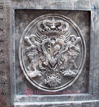 Armoiries corses en stéatite -Arts et sculpture: sculpteur contemporain