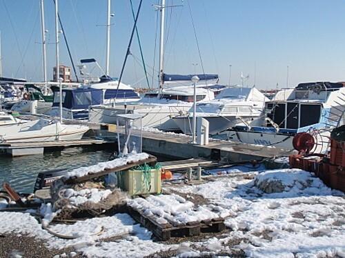 le barcares sous la neige 065