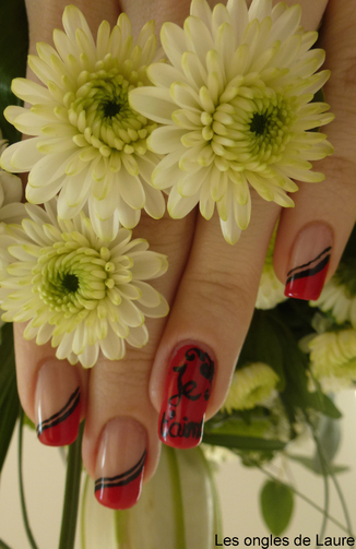 Nail Art de la Saint-Valentin version 2013