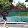 Marie-Galante - Fresque murale à Grand-Bourg