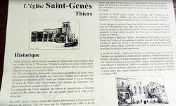 Thiers dans le Puy de Dôme