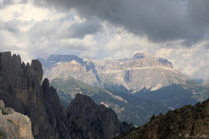 Trek dans les Dolomites, Italie