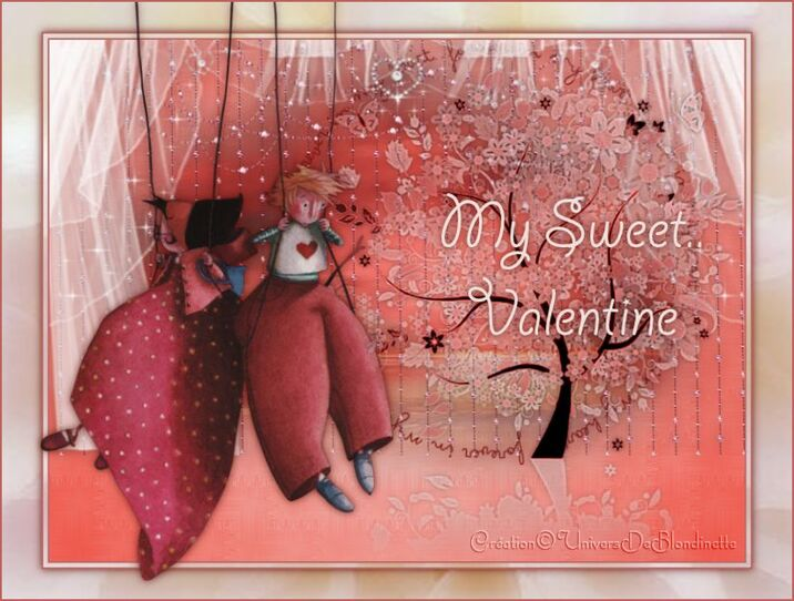 Tutoriel My Sweet Valentine