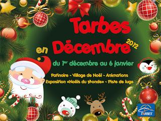 Marché de Noël de Tarbes 2012