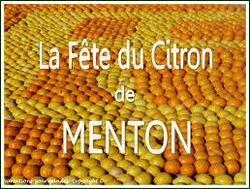 Fète des citrons a Menton