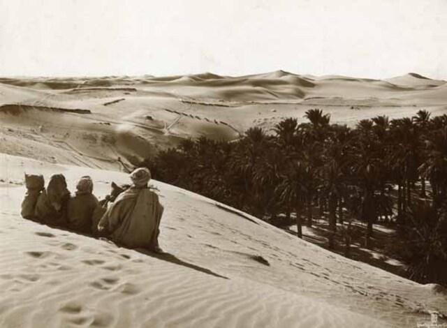 Méditation dans le désert. 1910