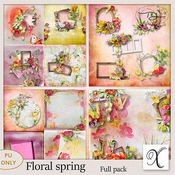 Floral spring Full pack