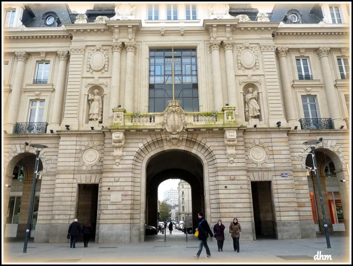 zzzzzzPetite balade dans Rennes -capitale de la Bretagne.