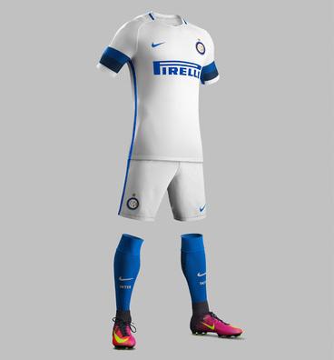 Acheter maillot de foot pas cher Inter Milan 2017 Exterieur