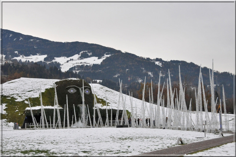 Wattens (Autriche) : le musée Swarovski