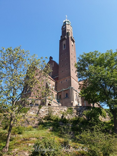 Suède : Stockholm Église d'Engelbrekt