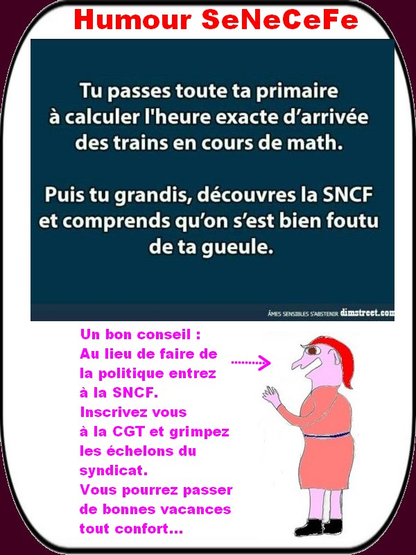 humour train
