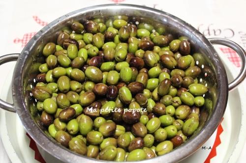 Olives écachées (escachado)
